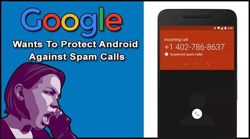 Android -alert -spam -call